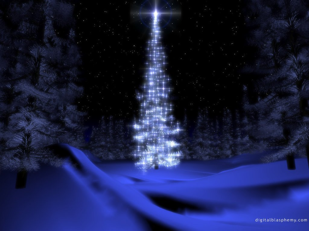 Wallpaper Design Web sapin de noel