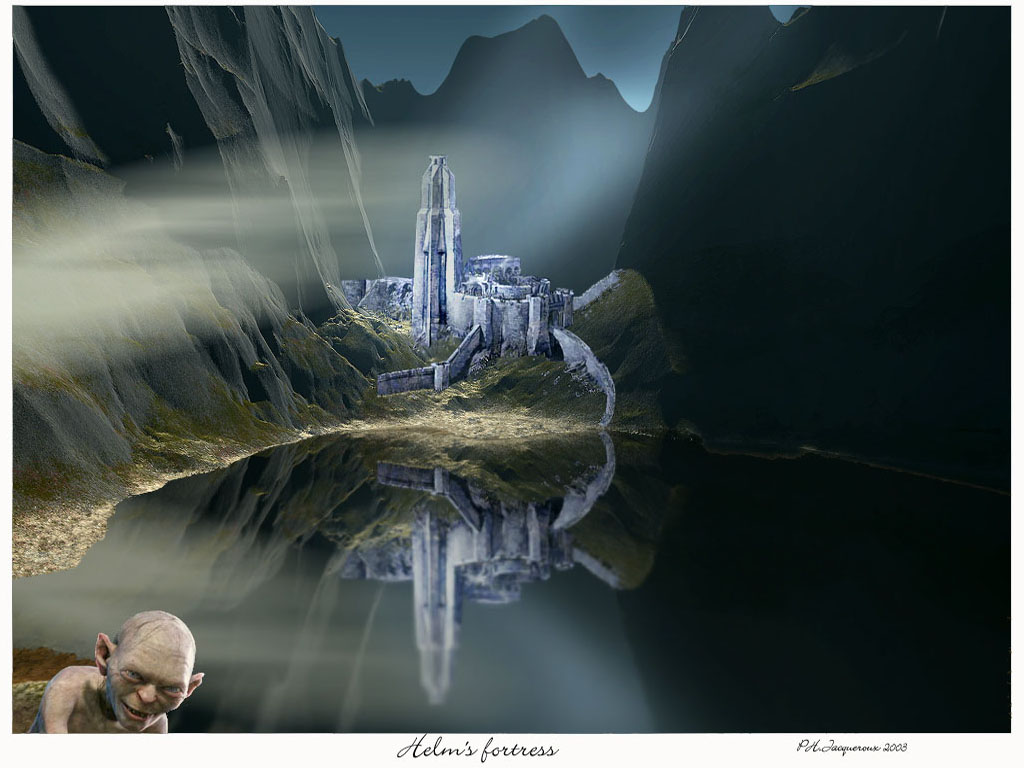 Wallpaper Design Web tolkien