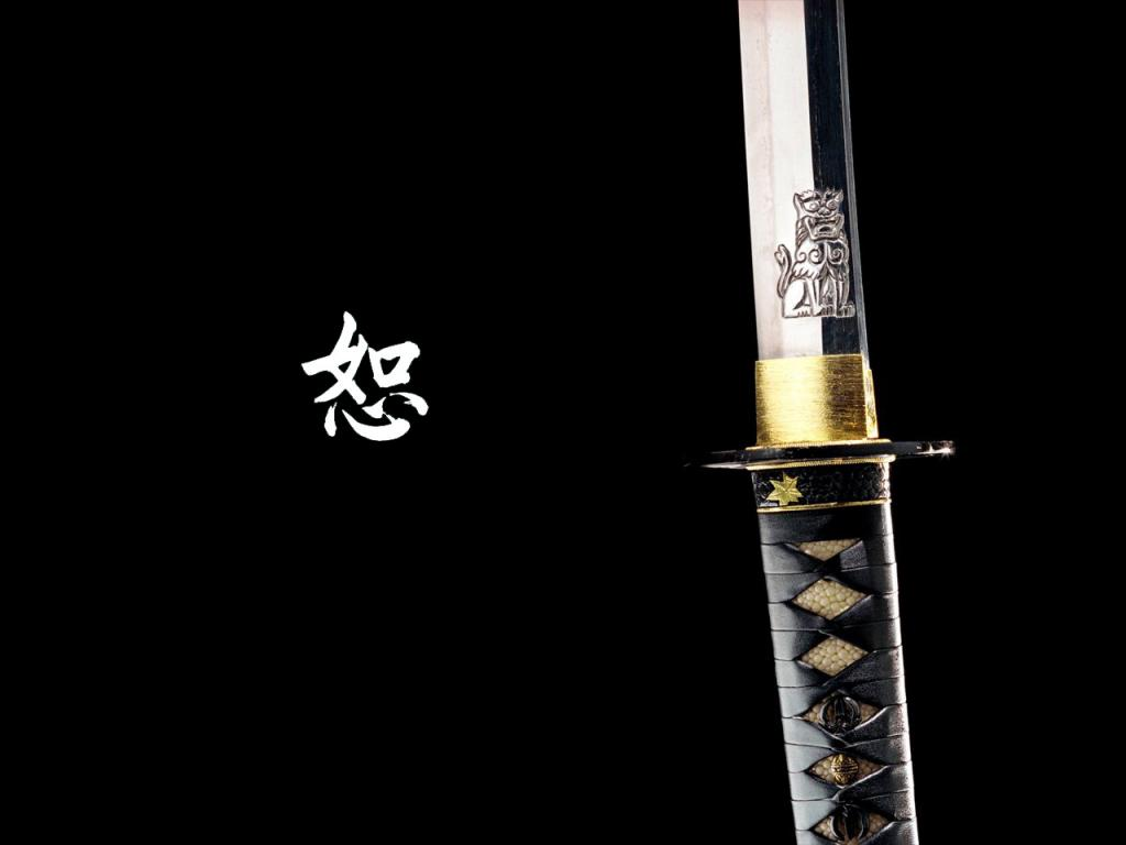 Wallpaper katana Design Web