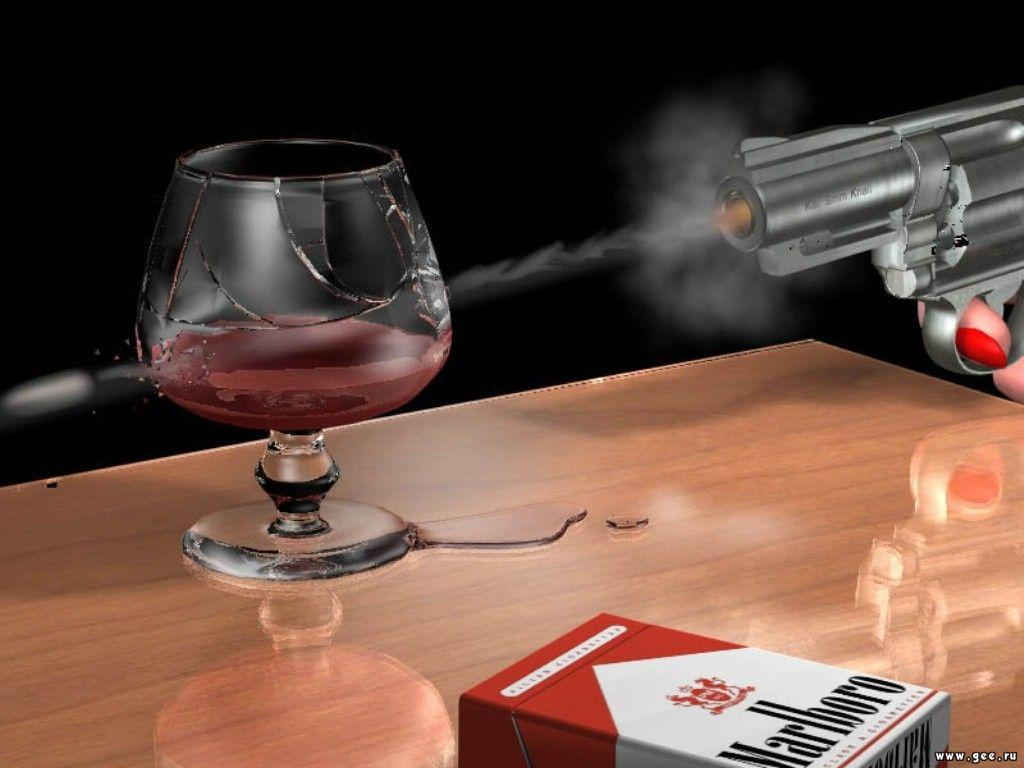 Wallpaper pistolet Design Web