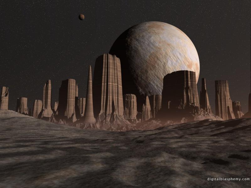 Wallpaper planete Design Web