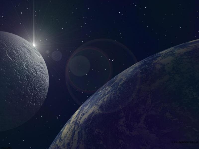 Wallpaper planete terre Design Web