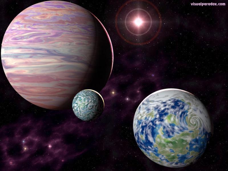 Wallpaper Design Web planetes
