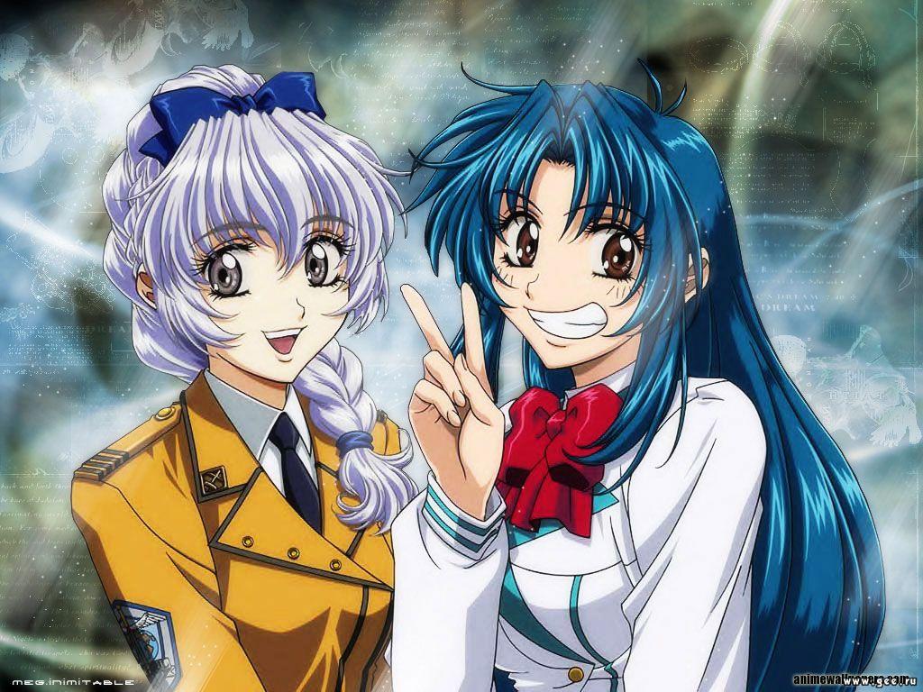 Wallpaper Manga 2 filles