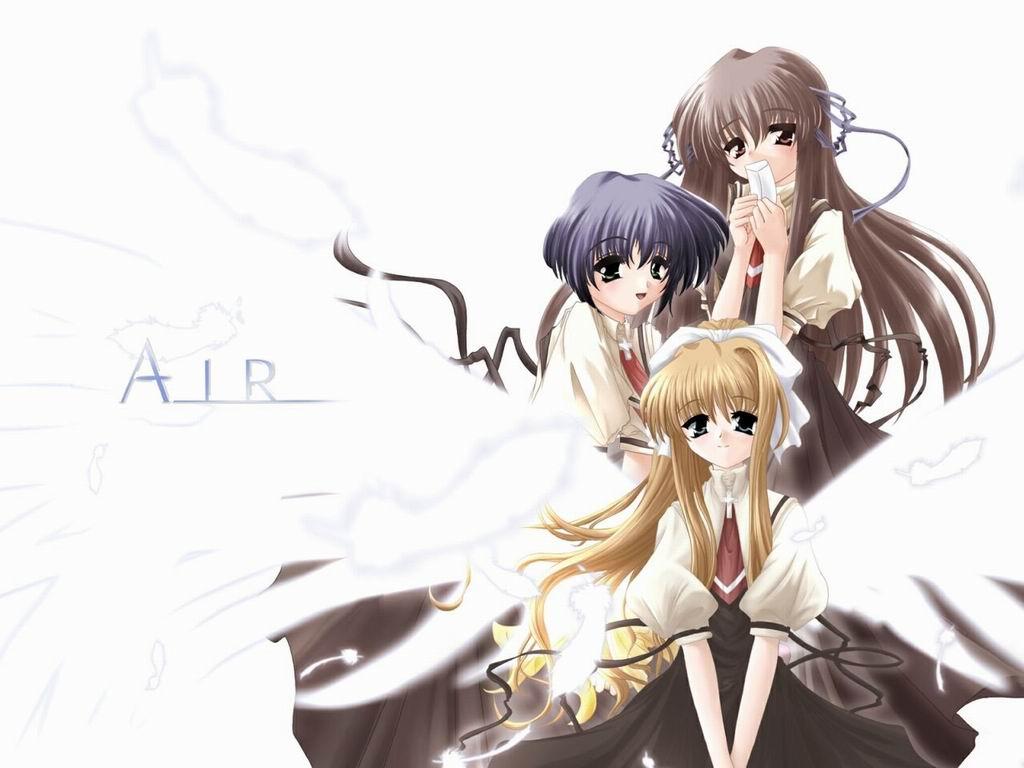 Wallpaper Manga air