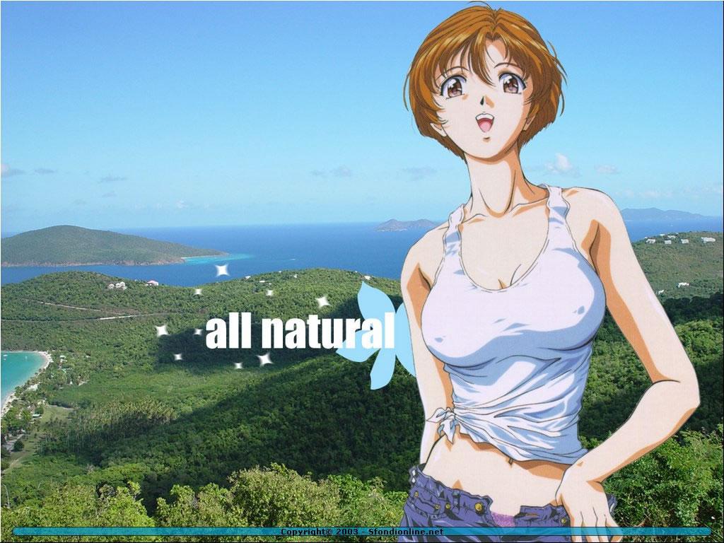 Wallpaper Manga all natural
