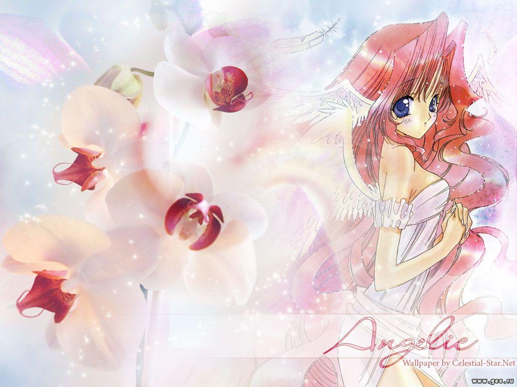 Wallpaper Manga angelic