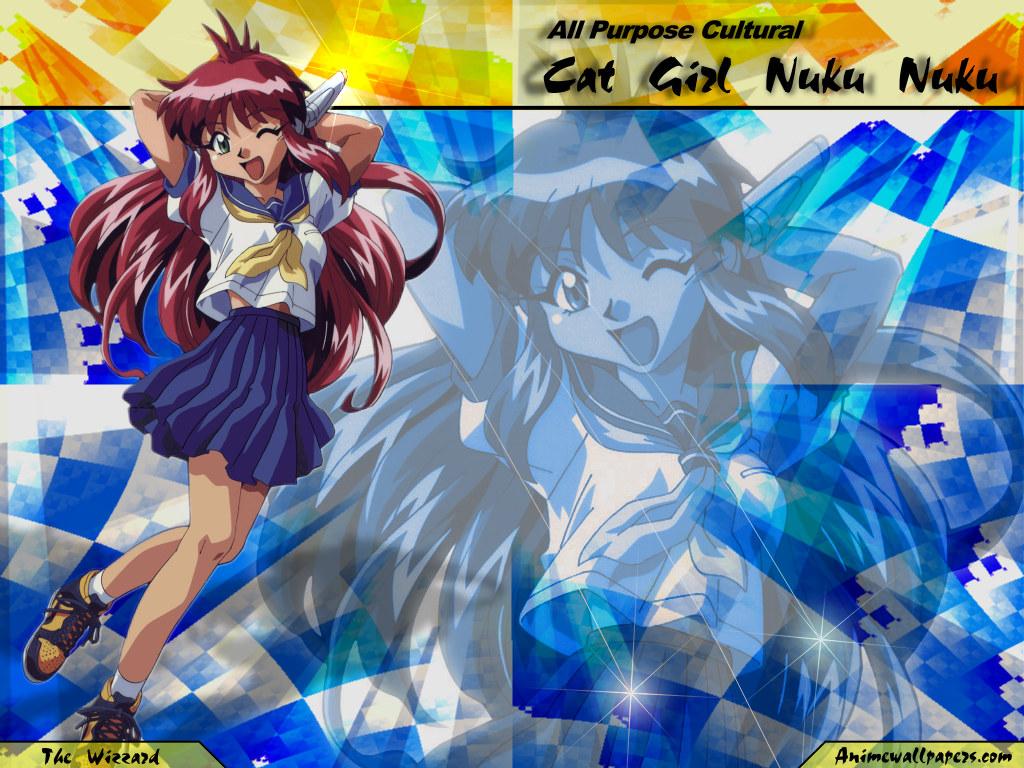 Wallpaper Manga cat girl