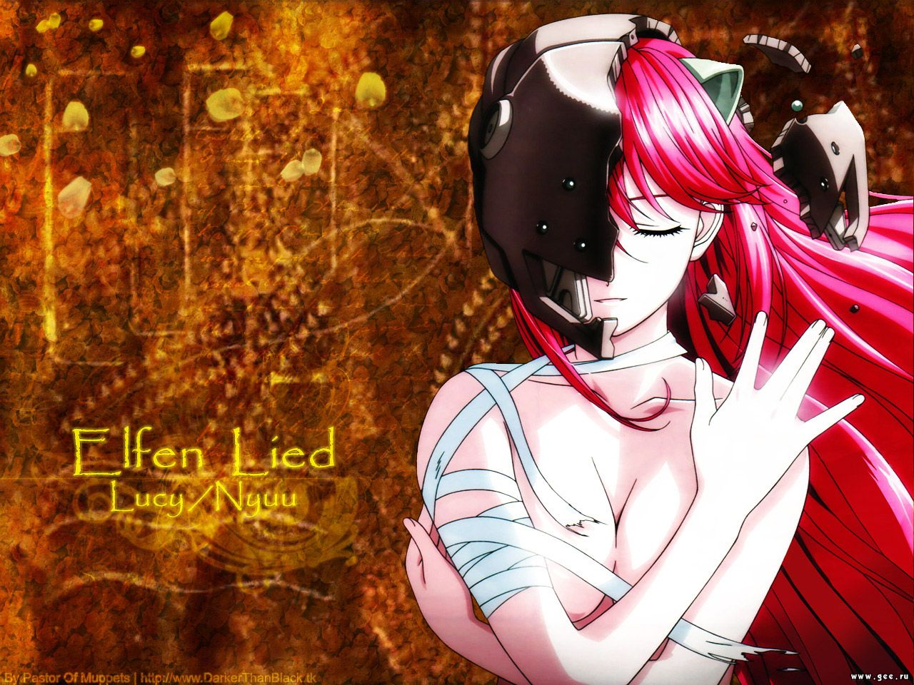 Wallpaper elfen lied Manga
