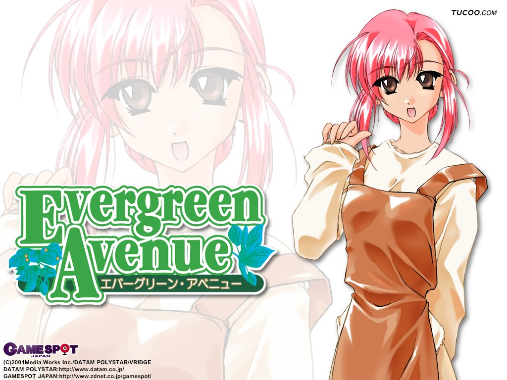 Wallpaper evergreen avenue Manga