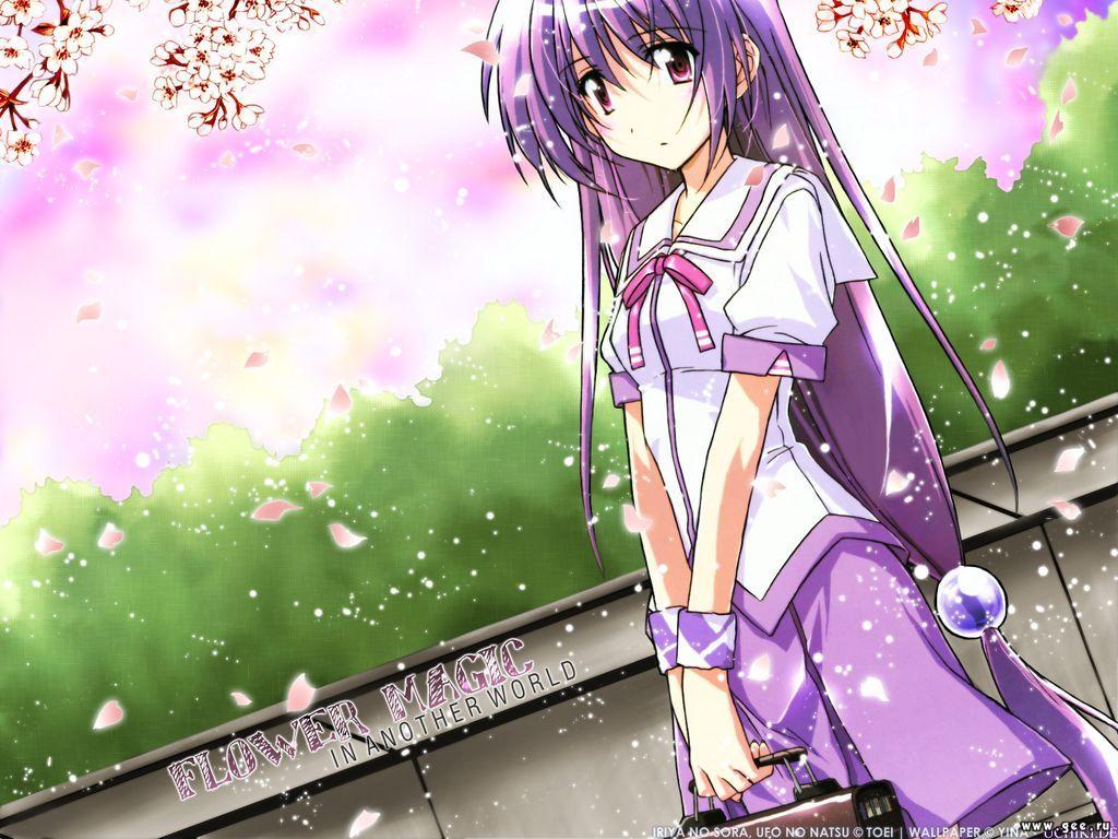 Wallpaper flower magic Manga