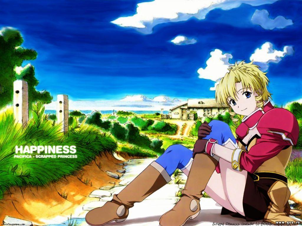 Wallpaper happiness Manga