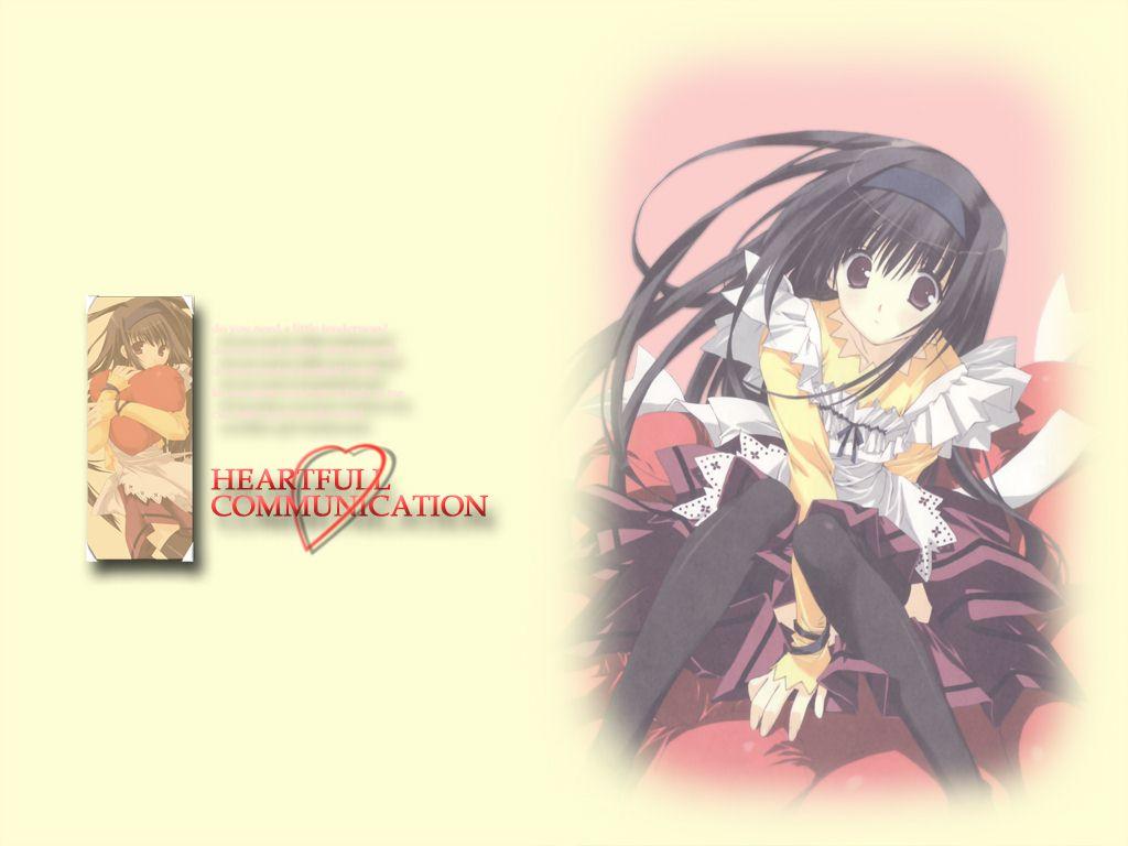 Wallpaper Manga heart full