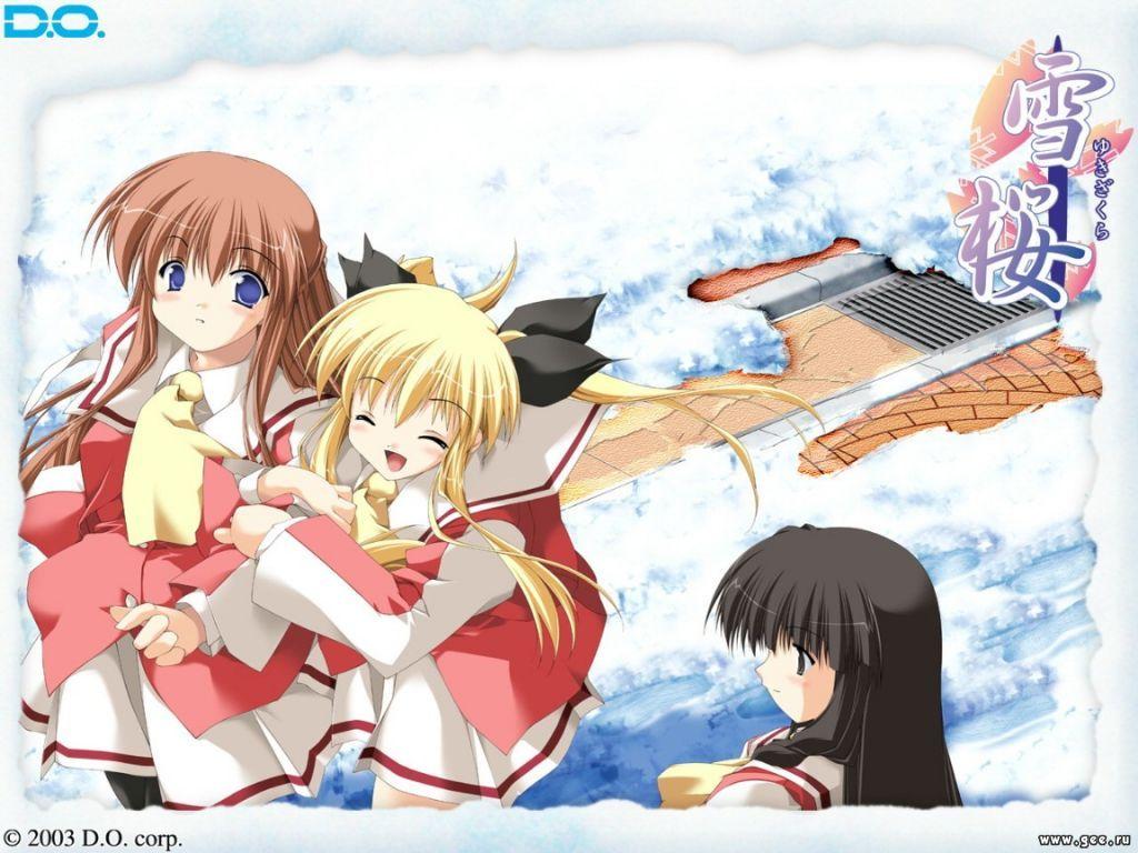 Wallpaper Manga hiver