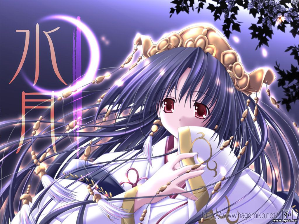 Wallpaper Manga jeune fille