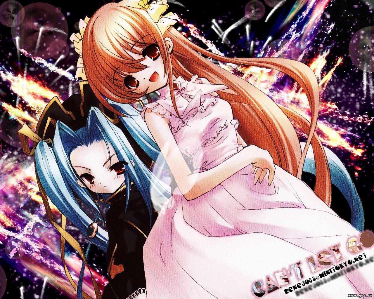 Wallpaper Manga jeunes filles
