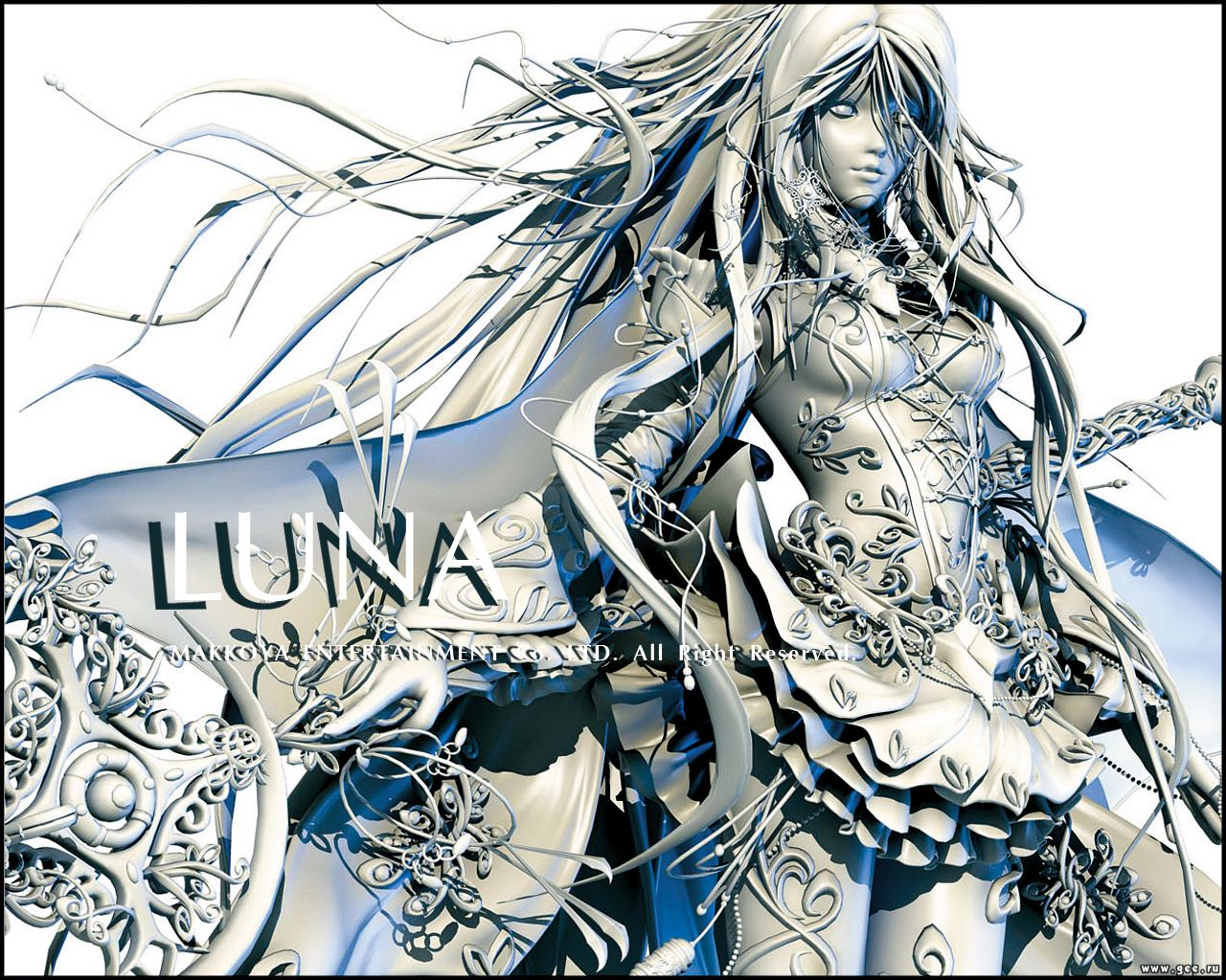 Wallpaper luna Manga