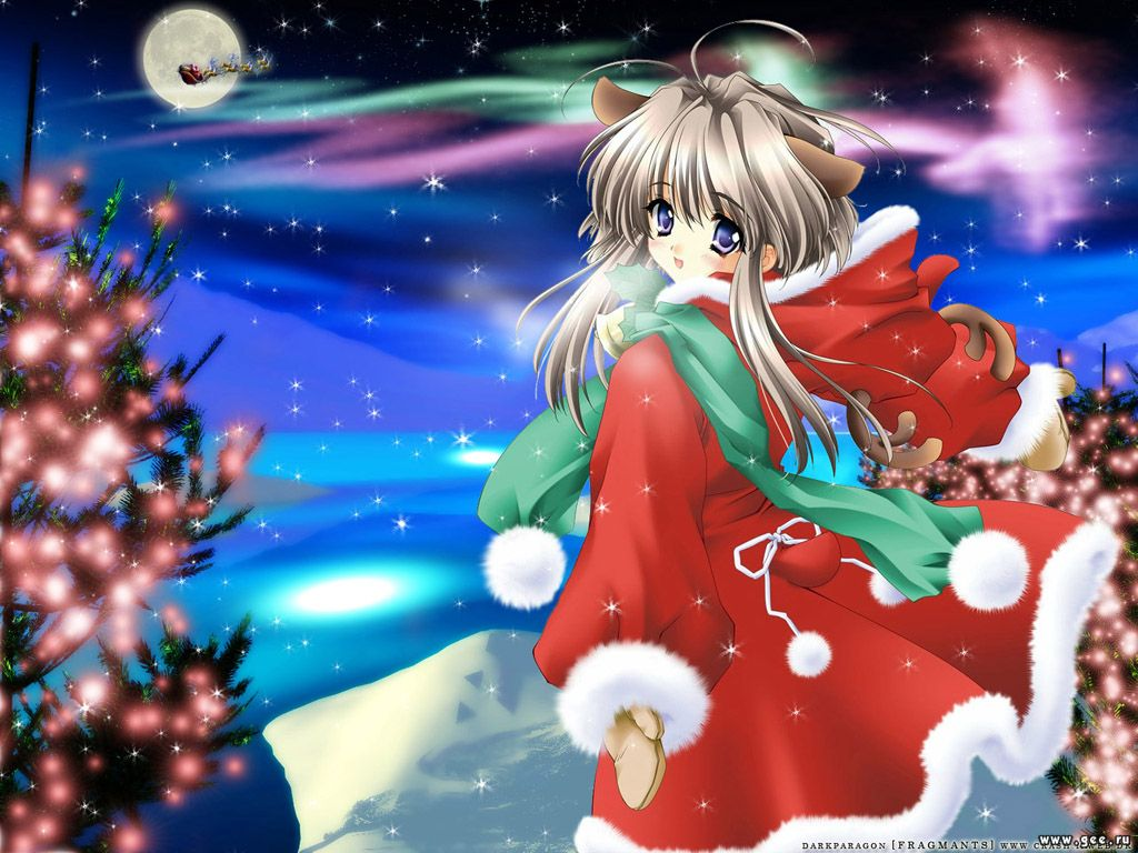 Wallpapers mere noel Manga - Annuaire Web France fonds d'écran Manga ...