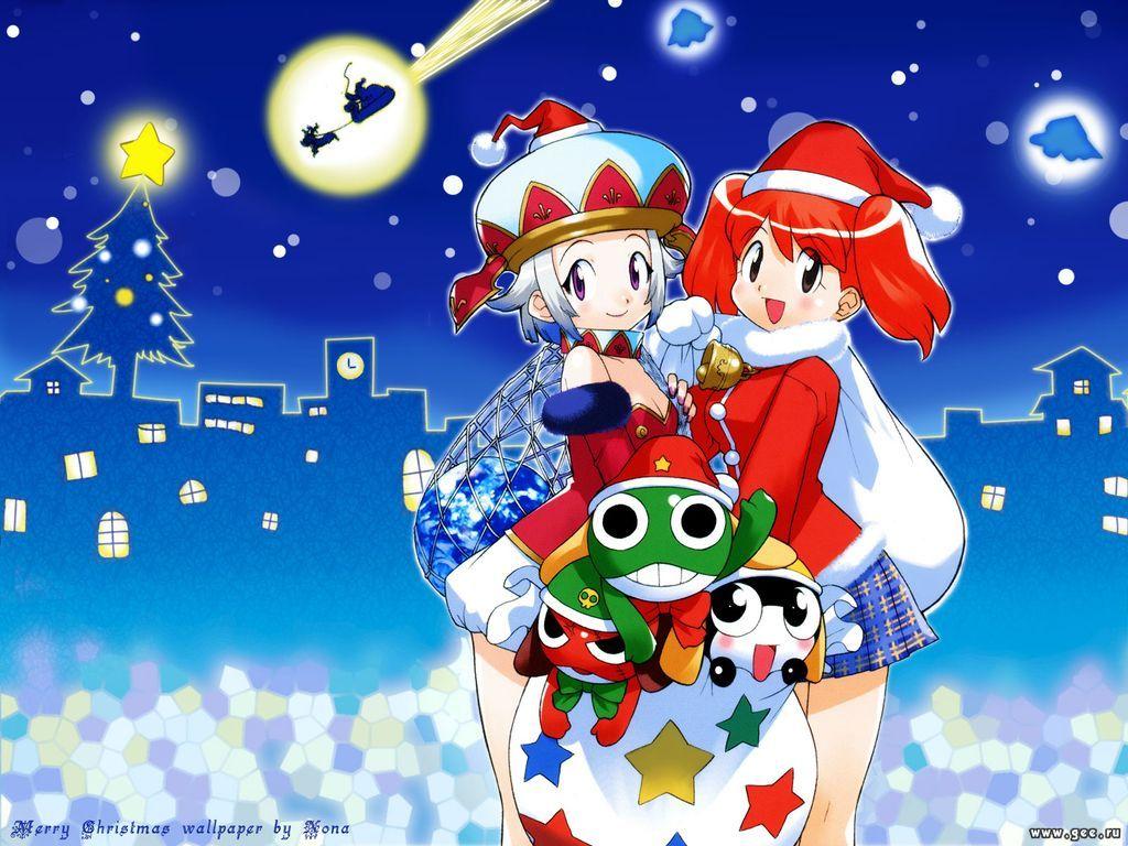 Wallpaper Manga merry christmas