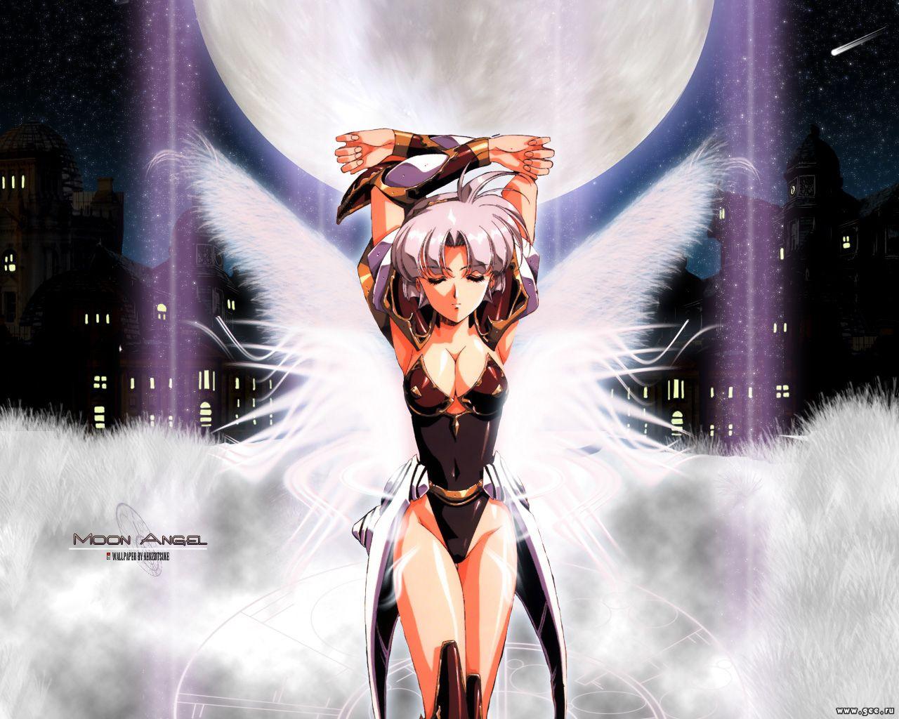 Wallpaper Manga moon angel