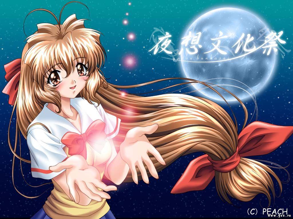 Wallpaper peach Manga