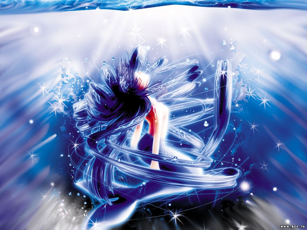 Wallpaper Sirene Manga Fond D&233cran Pictures