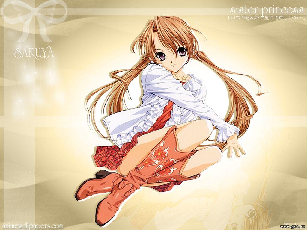 Wallpaper sister princess Manga
