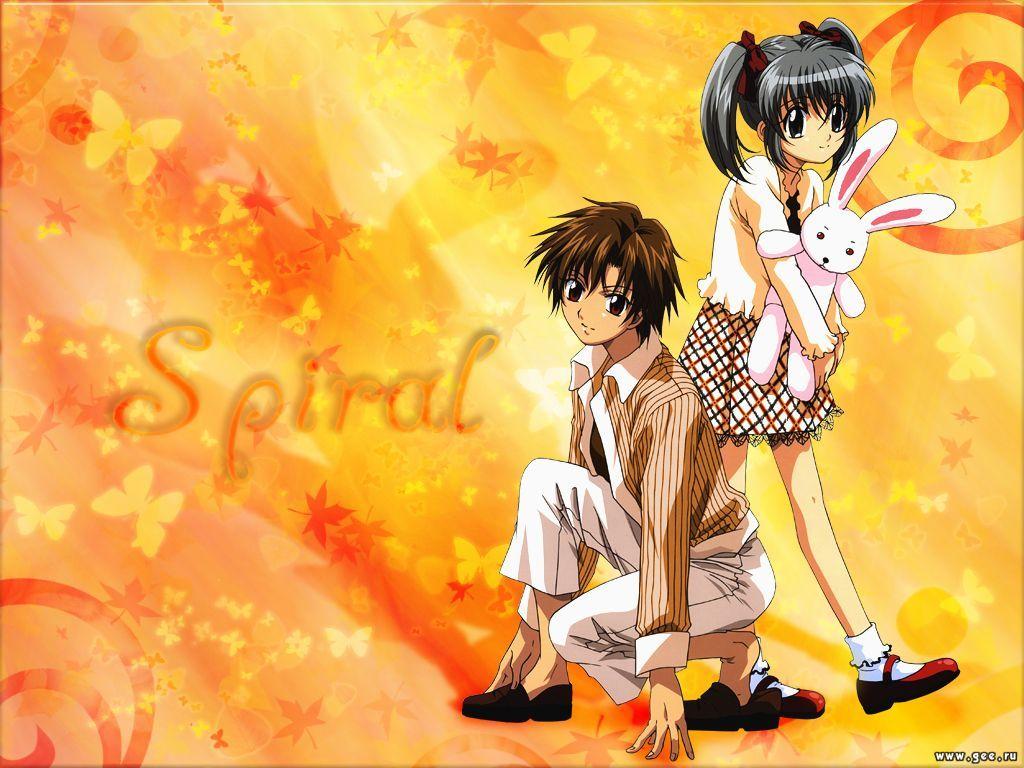 Wallpaper spiral Manga