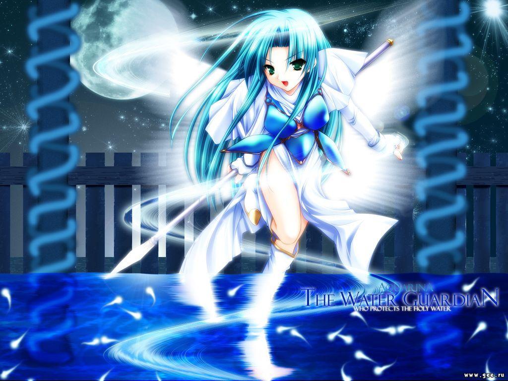 Wallpaper the water guardian Manga