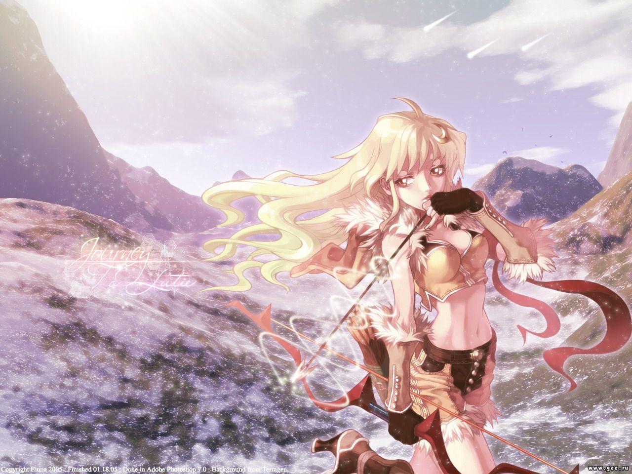 Wallpaper archere Manga