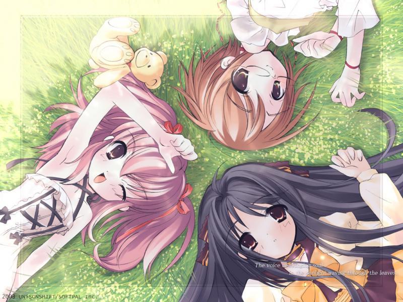 Wallpaper Manga belles filles