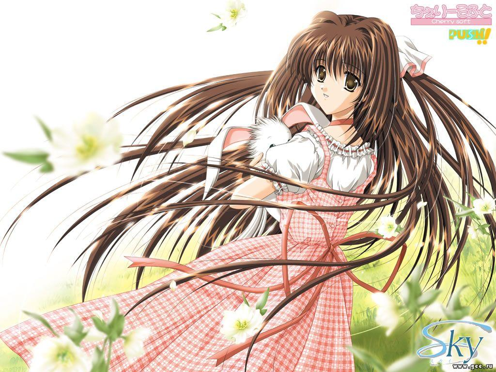 Wallpaper cherry soft Manga