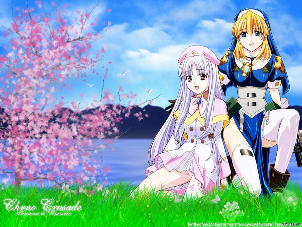 Wallpaper chrono crusade Manga