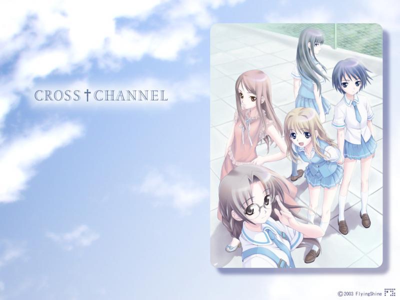 Wallpaper Manga cross channel