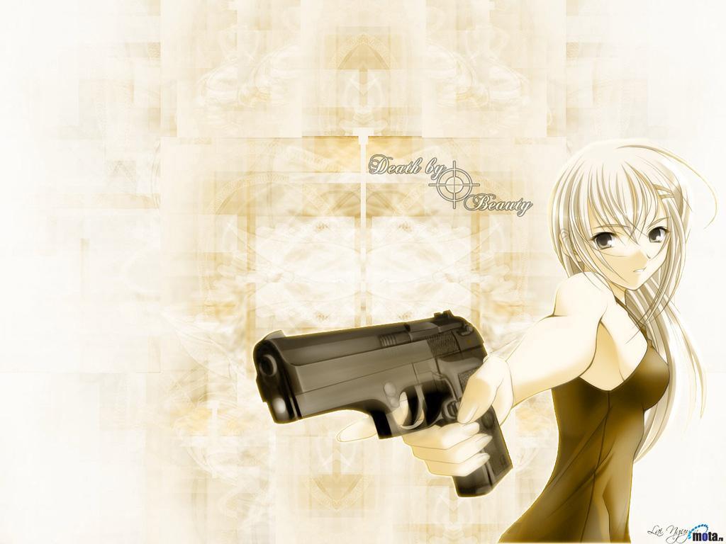 Wallpaper death by beauty Manga
