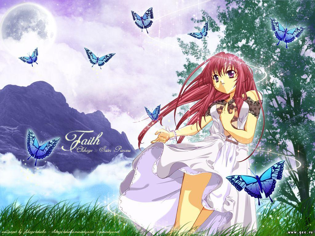 Wallpaper Manga faith