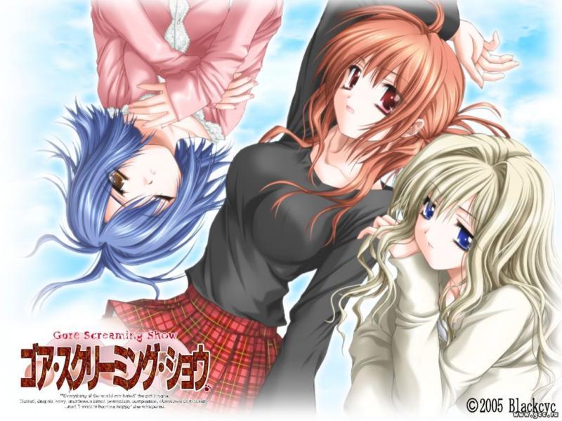 Wallpaper gore streaming dhow Manga
