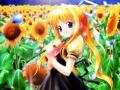 Wallpaper Manga jolie jeune fille