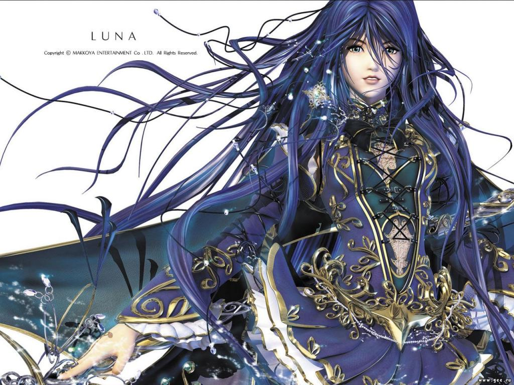 Luna Manga Wallpaper
