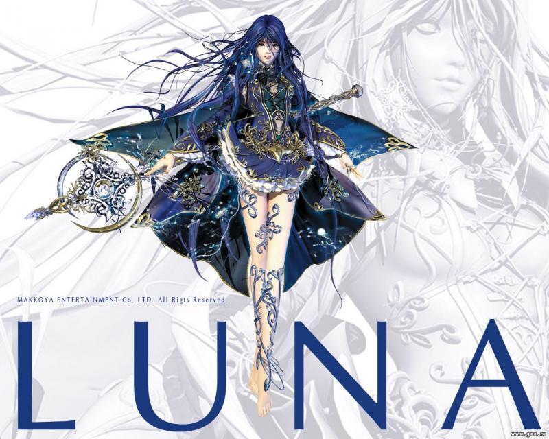 Wallpaper luna Manga