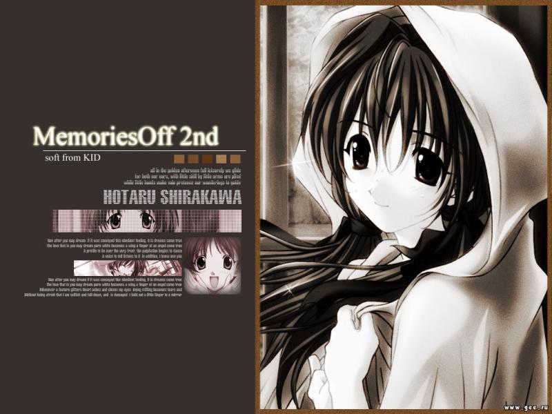 Wallpaper Manga memories off seconde