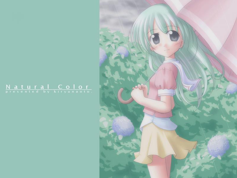 Wallpaper Manga natural color