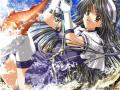 Wallpaper Manga peche aux poissons