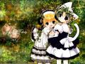Wallpaper Manga petites filles