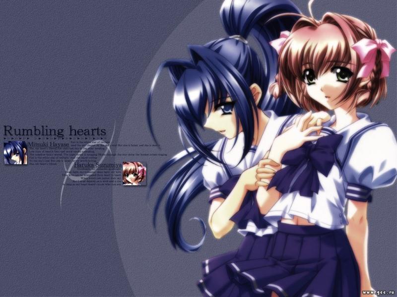 Wallpaper rumbling hearts Manga