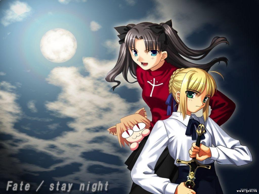 Wallpaper stay night Manga