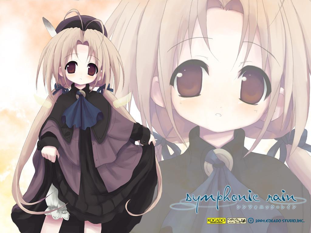 Wallpaper symphonie rain Manga