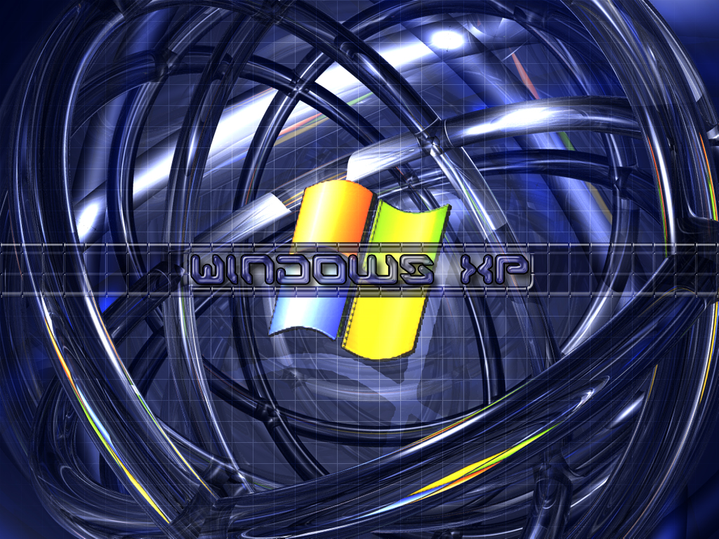 Wallpaper Theme Windows XP cercle