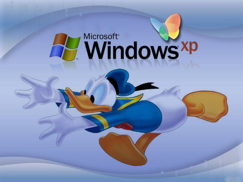 Wallpaper Theme Windows XP donald