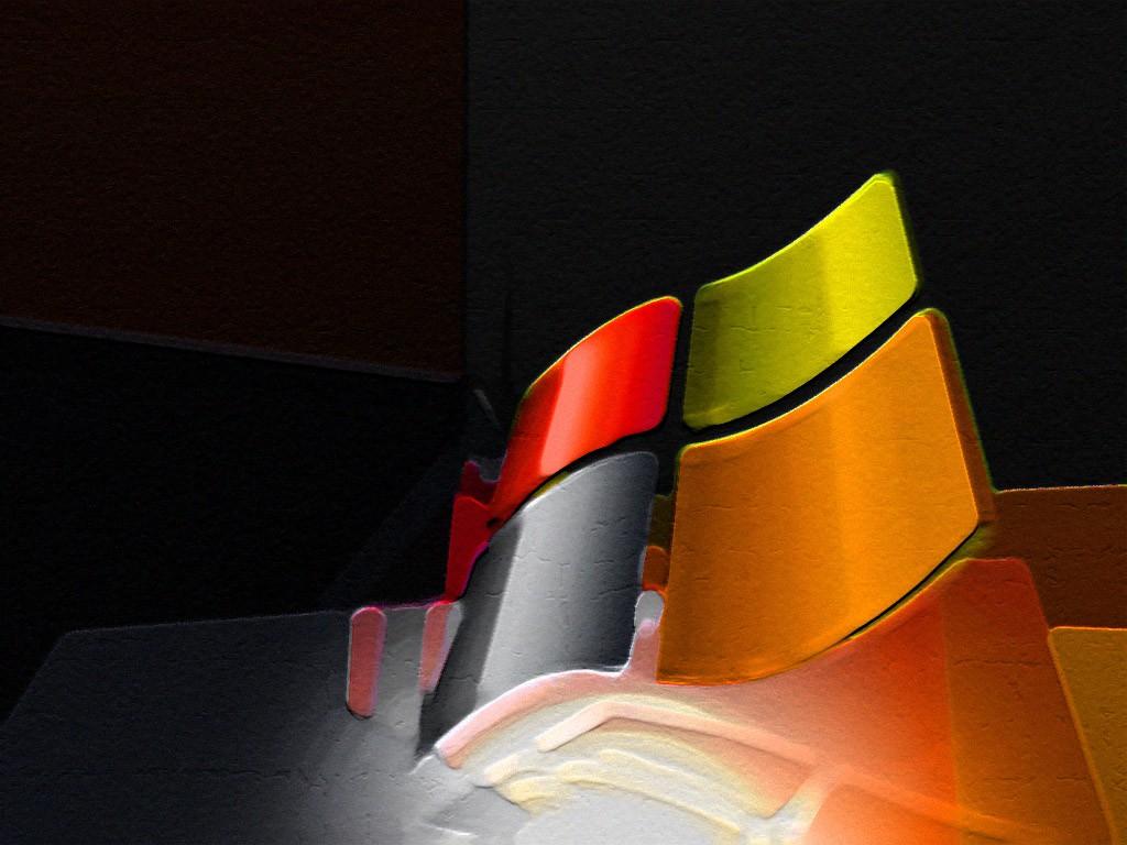 Wallpaper Theme Windows XP en pierre